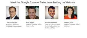 đối tác cao cấp google