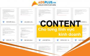 tài liệu viết content cho từng lĩnh vực kinh doanh