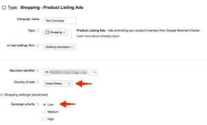 thiết lập tài khoản google shopping 6