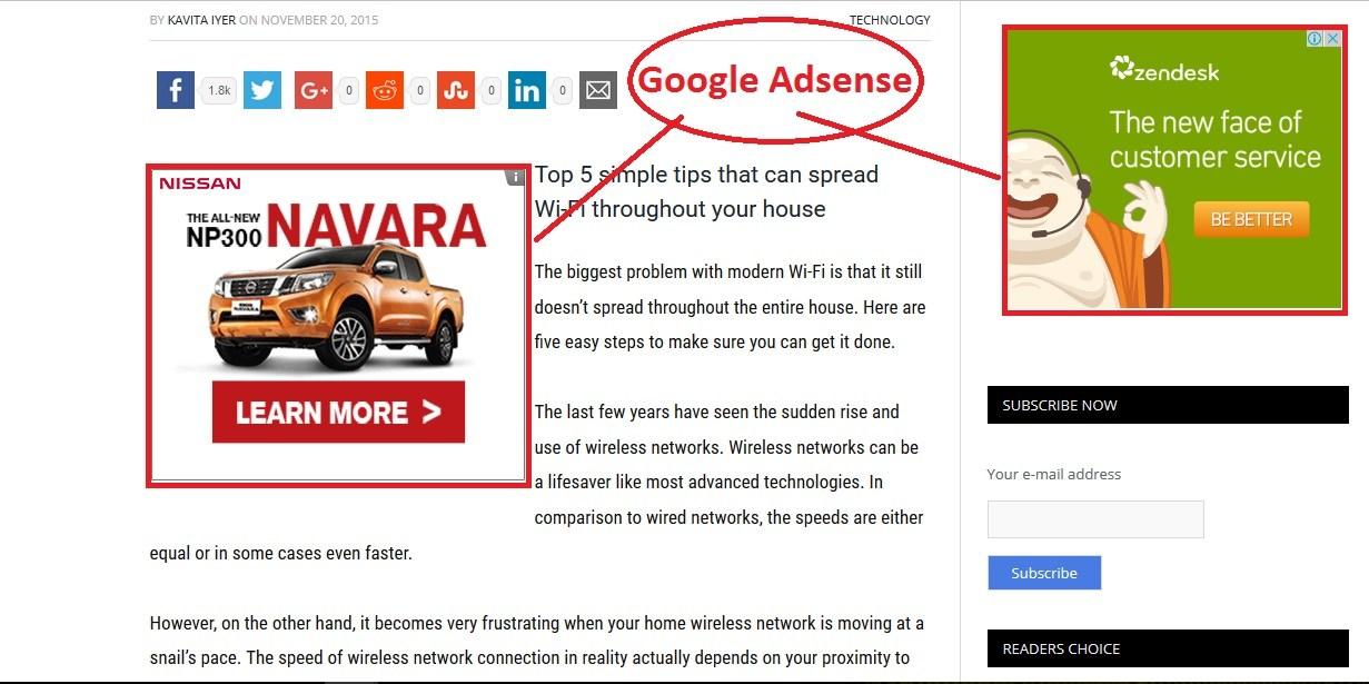 google adsense la gi va cach kiem tien tu google adsense