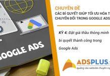 Đặt giá thầu Google Ads