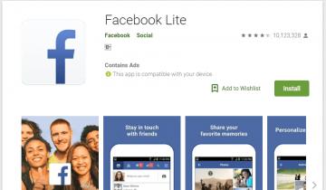 facebook lite là gì