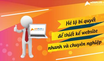 thiết kế website nhanh 1