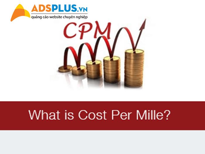 CPM Cost per Miles Chi phí trên 1000 lần hiển thị