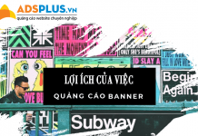 lợi ích của việc quảng cáo banner