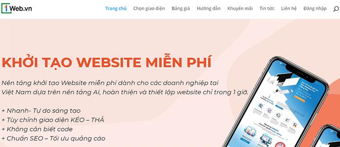 thiet ke website mien phi nhanh chong cuc chat