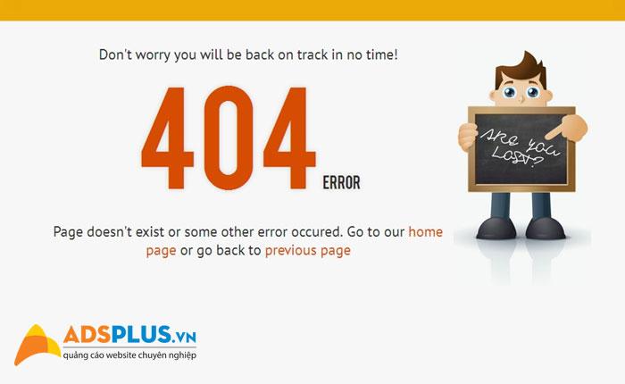 lỗi error 404 01