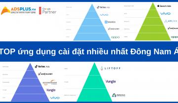 Top ứng dụng cài đặt nhiều nhất Đông Nam Á