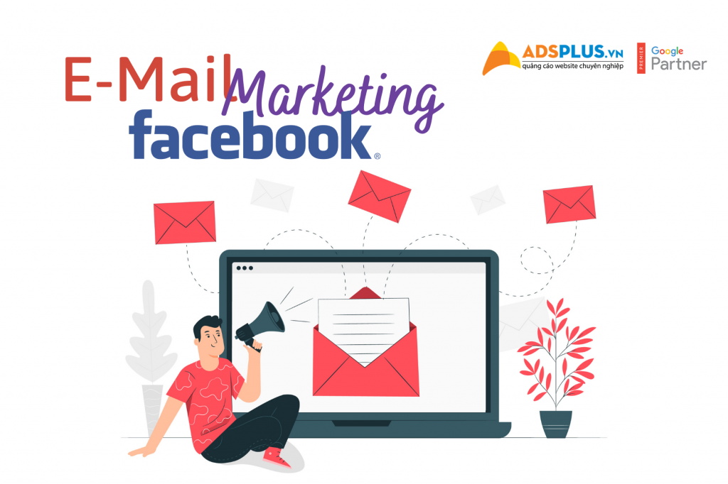 công cụ email marketing trên Facebook
