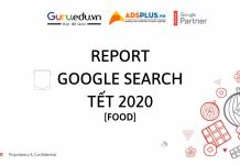 """""""REPORT Google Search"""" xu hướng ngày Tết"""