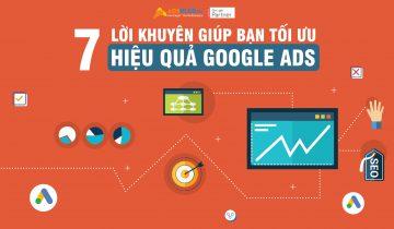 7 lời khuyên Tối ưu Google Ads hiệu quả