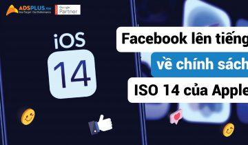 Facebook lên tiếng về chính sách IOS 14 của Apple