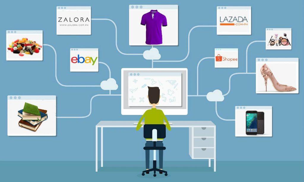 sàn thương mại điện tử