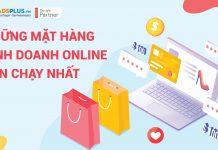 Những mặt hàng kinh doanh Online