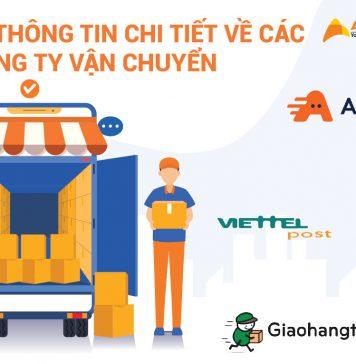 Tổng hợp thông tin chi tiết về các công ty vận chuyển