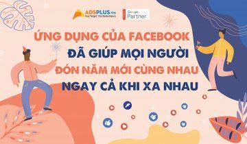 Ứng dụng của Facebook đã giúp mọi người đón năm mới cùng nhau, ngay cả khi xa nhau