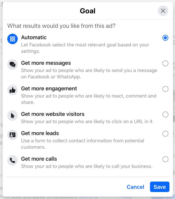 Làm thế nào để tăng cường một bài đăng trên Facebook?