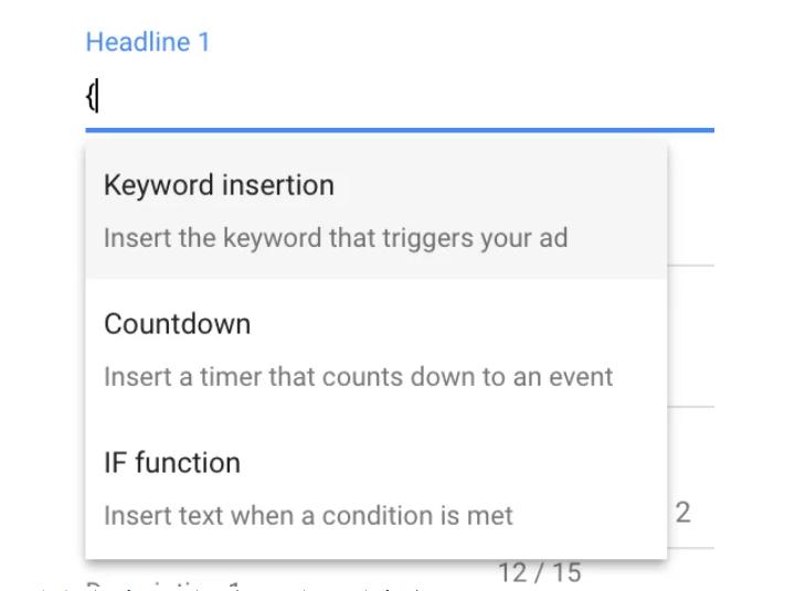 Bài viết quảng cáo mẫu - tận dụng các tính năng quảng cáo động