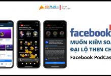 Facebook PodCast - Tính năng mới giúp Facebook chiếm lĩnh mạng xã hội