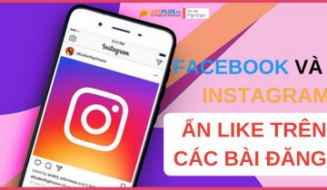 facebook và instagram ẩn like trên các bài đăng
