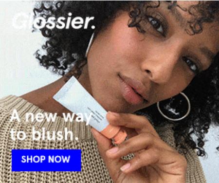 hiện thị hình ảnh quảng cáo glossier case study social media