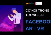 cơ hội trong tương lai facebook ar và vr