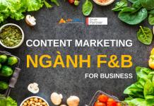 cách viết content marketing nganh F&B cho doanh nghiệp