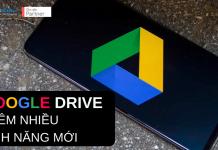 google drive folder thêm nhiều tính năng mới