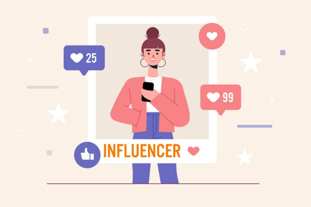 Sử dụng Influencer để Marketing