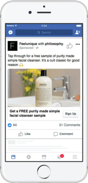 Philosophy: thu hút người tiêu dùng bằng các mẫu miễn phí