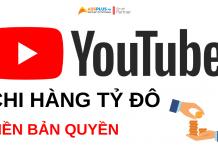 youtube news chi hàng tỷ đô tiền bản quyền