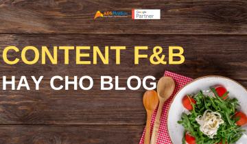 content f&b hay cho blog