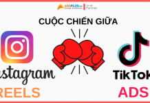 cuộc chiến giữa instagram reels và tiktok ads