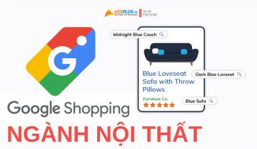google shopping ngành nội thất