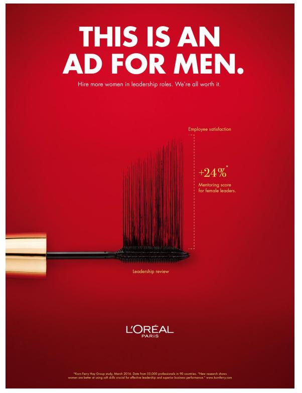quảng cáo mỹ phẩm hay