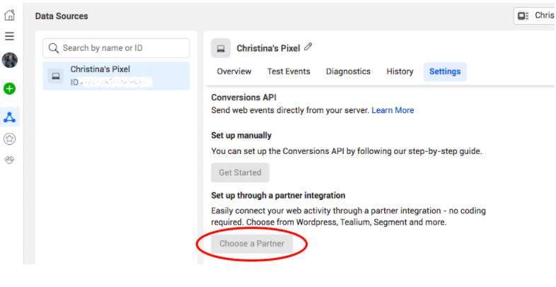 API chạy chuyển đổi Facebook