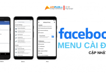 cập nhật facebook mới