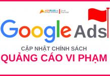 chính sách google ads mới