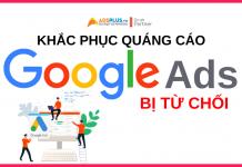 quảng cáo google bị từ chối