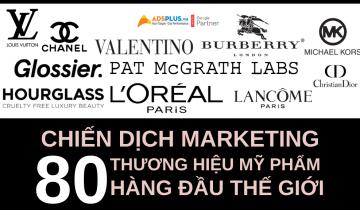 chiến dịch quảng cáo mỹ phẩm