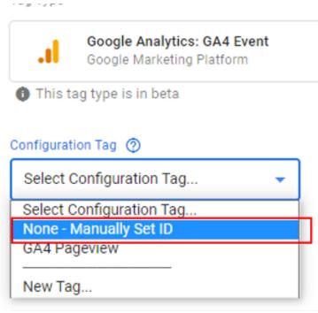 google analytic 4 ecommerce