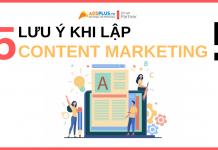 kế hoạch content marketing