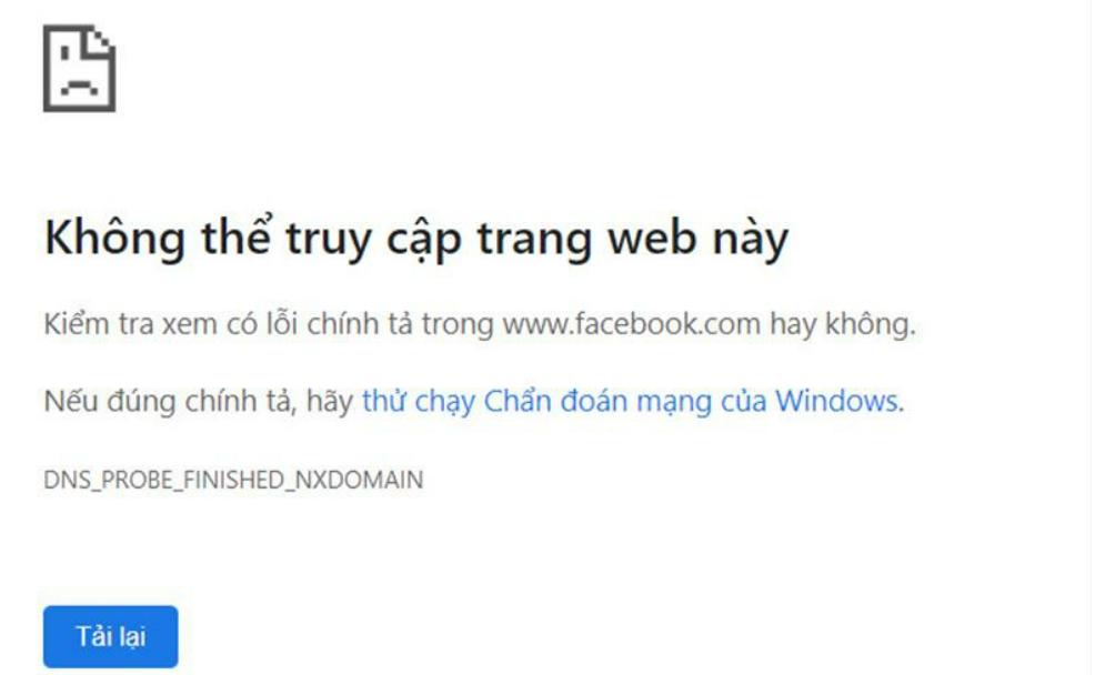 facebook shut down