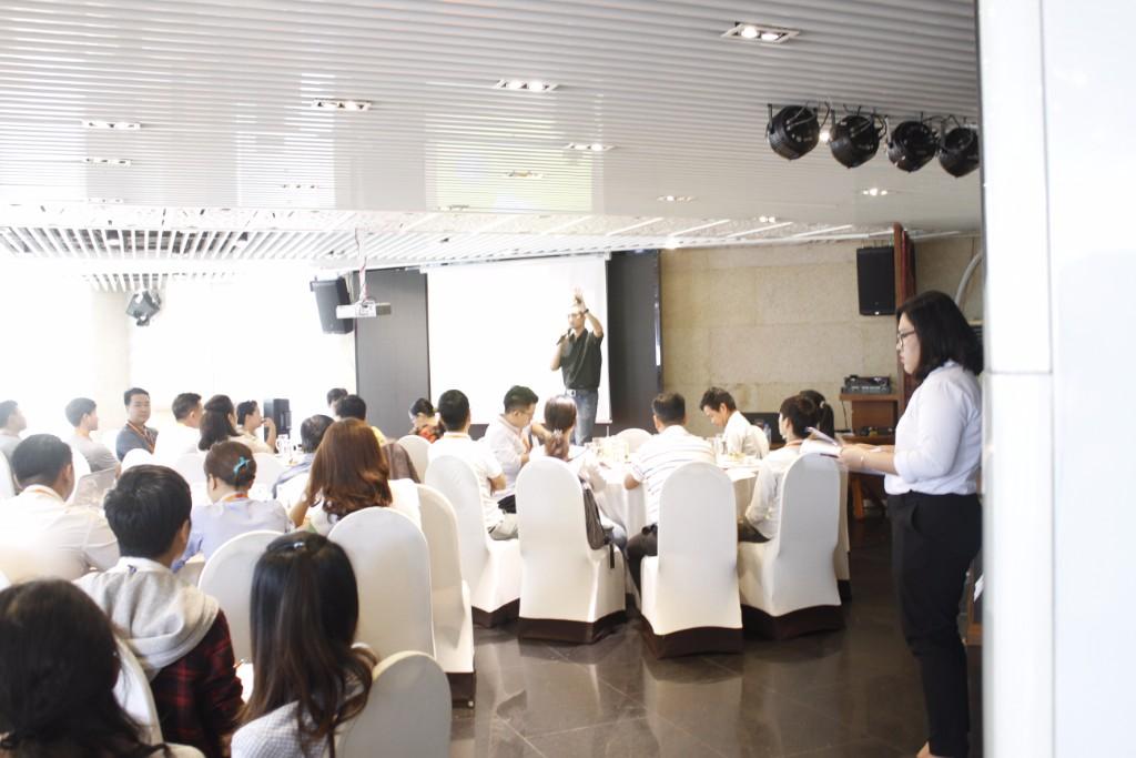 Workshop Học viện Guru hợp tác cùng Đối tác Chili diễn ra ngày 22/11/2017 tại Stix Restaurant với sự tham dự của 83 doanh nghiệp vừa và nhỏ.