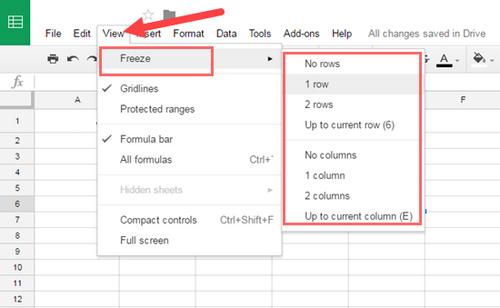 hướng dẫn sử dụng Google Sheet ảnh 4