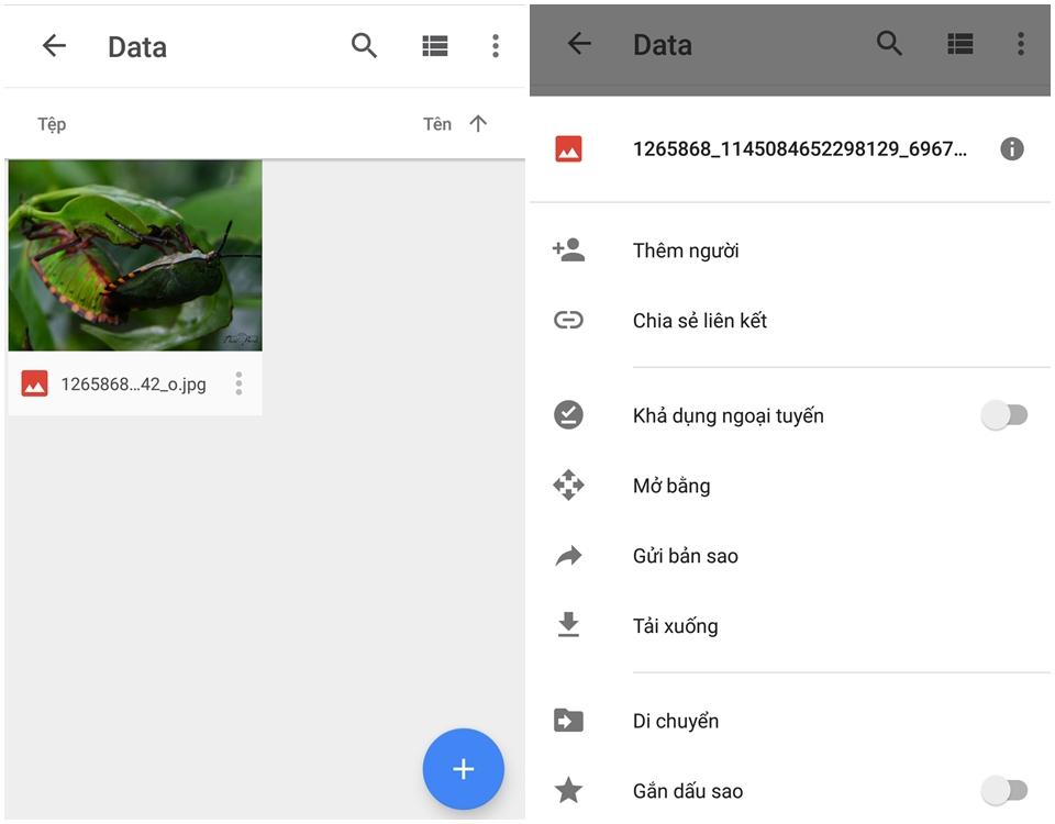 Cách sử dụng Google Drive ảnh 6