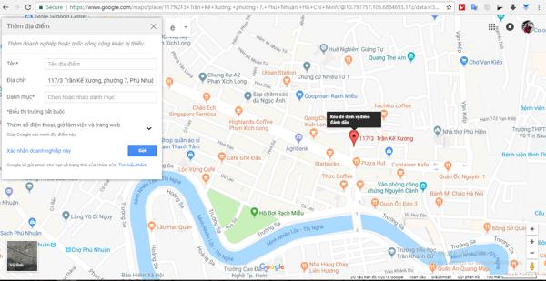 cách đánh dấu địa điểm trên google map6