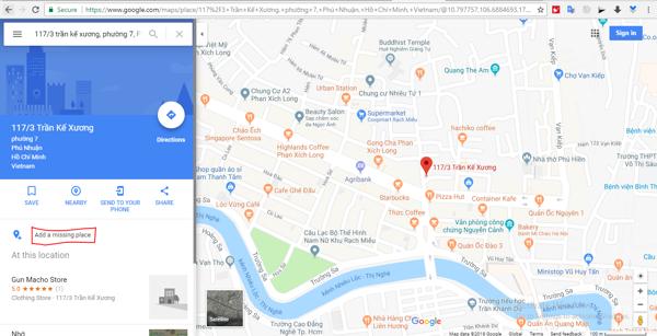 cách đánh dấu địa điểm trên google map7