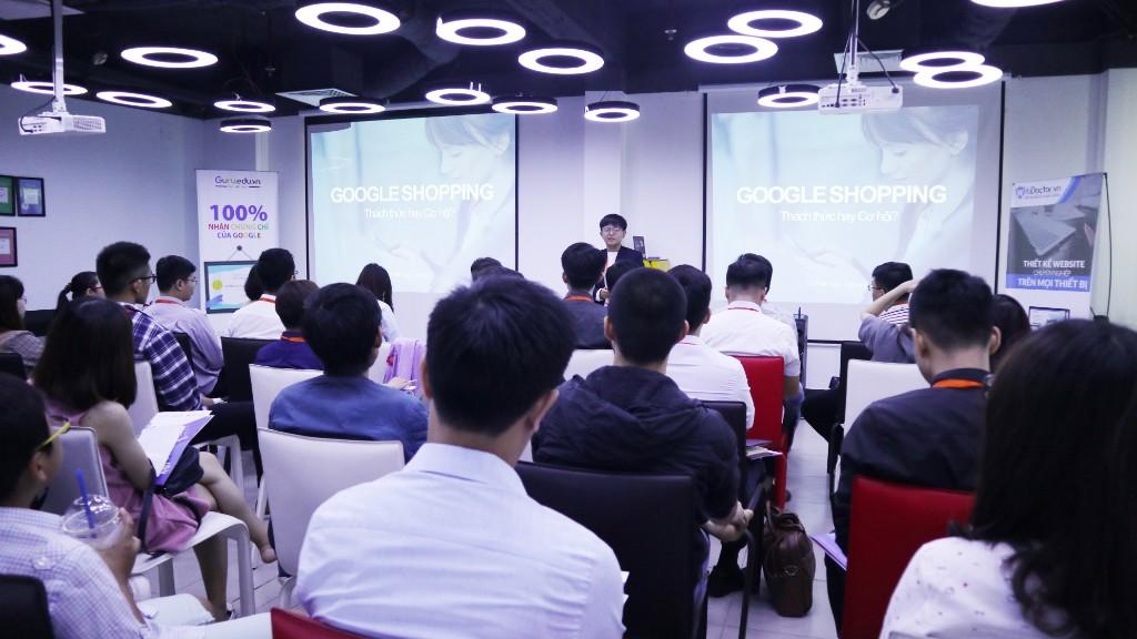 Hội Thảo Shopping with Google ngày 18/07/2018 tại Adsplus.vn