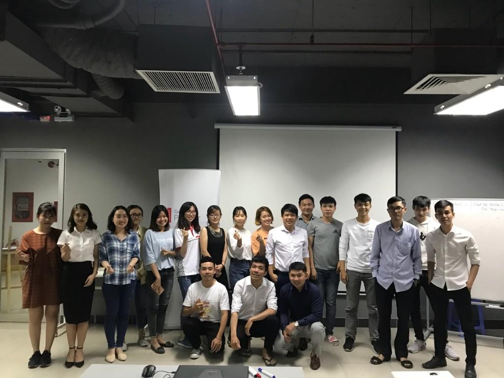 Tổng kết Khoá học Google Search GS34 ngày 07/11/2018